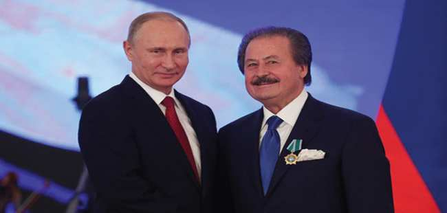 Putin'den Türk iş adamına 'Devlet Nişanı'