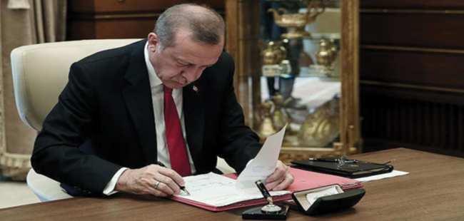 Erdoğan'dan Antalya'ya rektör ataması