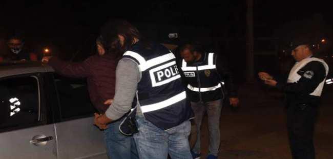 Antalya'da polisten asayiş uygulamsı