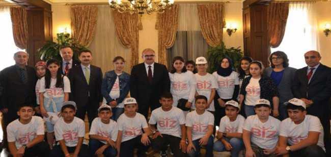 Bitlis ve Şırnaklı öğrenciler Antalya'da