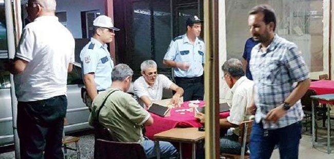 MANAVGAT'TA POLİSTEN KUMAR UYGULAMASI