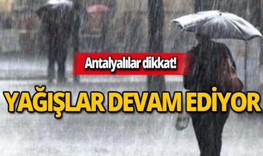 23 Kasım Antalya hava durumu