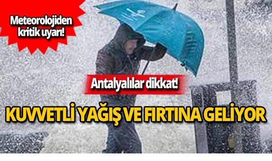 26 Kasım Antalya hava durumu