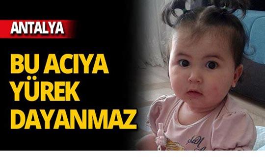 2 yaşındaki bebeğin yasa boğan ölümü!