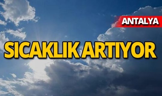 31 Temmuz 2019 Antalya hava durumu