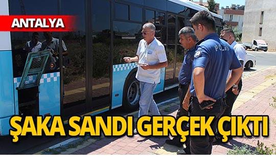 5 bin lira değerinde! Halk otobüsünden çaldılar