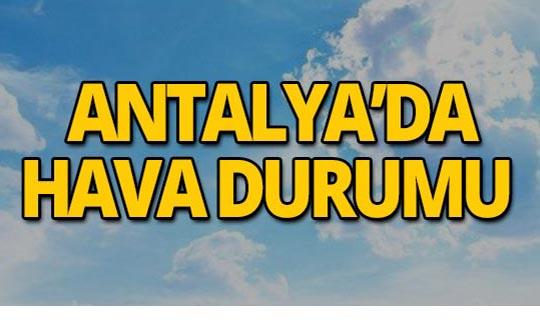 7 Temmuz Antalya hava durumu