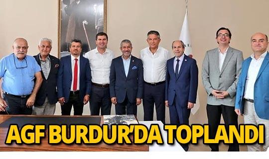 Akdeniz Gazeteciler Federasyonu Burdur'da toplandı.