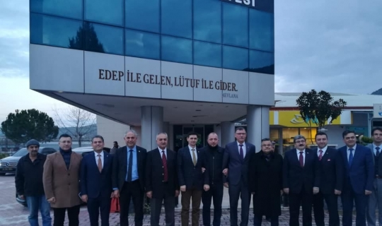 AK Parti heyetinden Osmaneli ve Vezirhan'a ziyaret