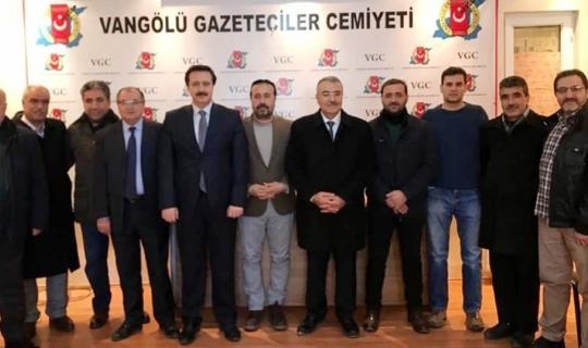 AK Parti İpekyolu heyetinden VGC'ye ziyaret