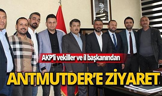 AK Parti'den ANTMUTDER'e ziyaret