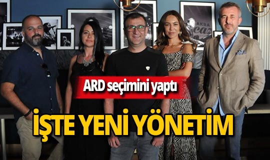 Akdeniz Reklamcılar Derneği yeni yönetimini belirledi