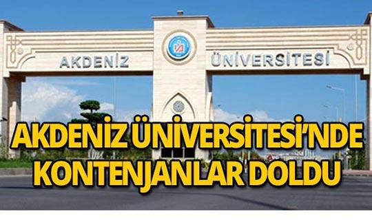 Akdeniz Üniversitesi en çok tercih edilenler arasında