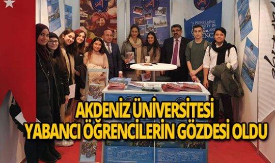 Akdeniz Üniversitesi Köln Yurt Dışı Eğitim Fuarı'nda