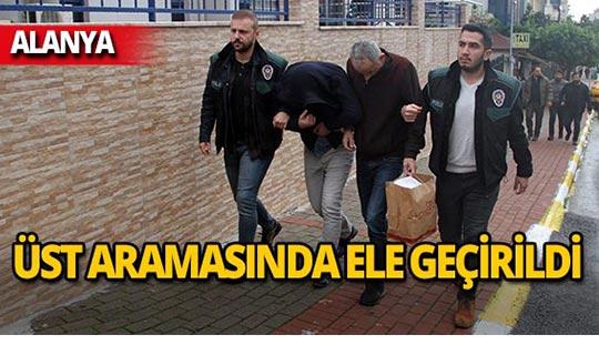 Alanya'da operasyon : 5 kişi gözaltında!