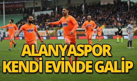 Alanyaspor evinde Yeni Malatyaspor'u 2-1 yendi!