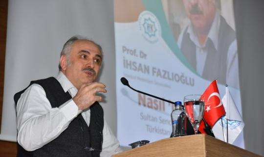 ALKÜ İhsan Fazlıoğlu'nu ağırladı