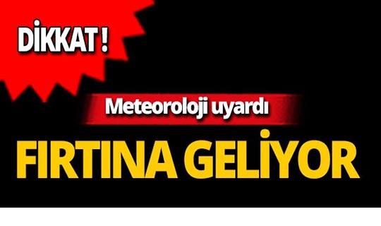 Aman dikkat! Akdeniz'de fırtına uyarısı!