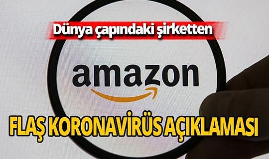 Amazon'un 20 bine yakın çalışanı Covid-19'a yakalandı