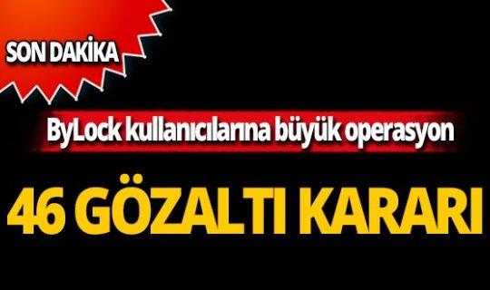Ankara'da operasyon! Çok sayıda gözaltı kararı