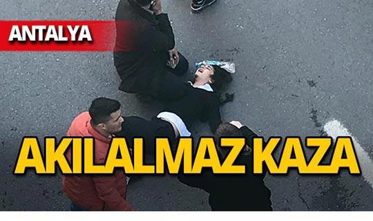 Antalya'da 14 yaşındaki ortaokul öğrencisi alt geçite düştü!