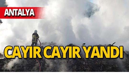 Antalya'da 400 yıllık ev kül oldu!