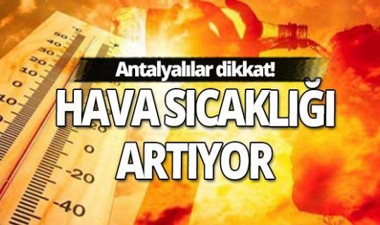 5 Ekim 2020 Pazartesi Antalya'da hava durumu
