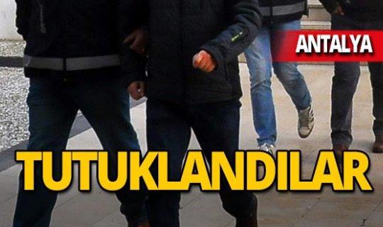 Antalya'da 8 ayrı adreste hırsızlık!
