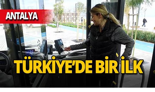 Antalya'da avantajlı yolculuk