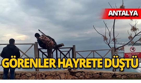 Antalya'da balık tutkusu yasak dinlemedi
