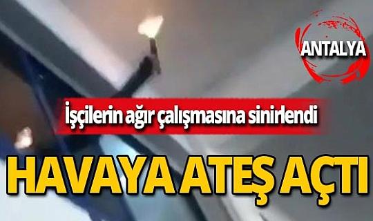 Antalya'da bu paylaşım ortalığı karıştırdı!