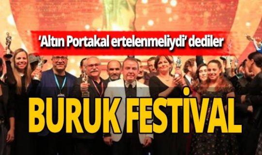 Antalya'da buruk festival