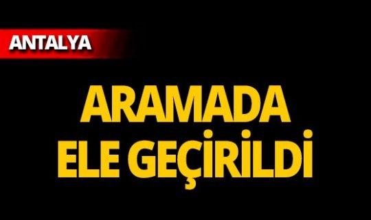 Antalya'da ev baskını!