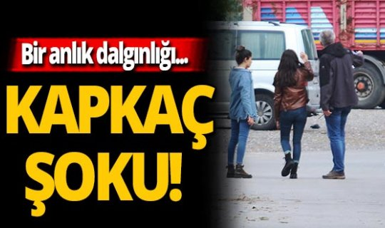 Antalya'da kapkaç şoku!