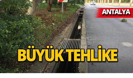 Antalya'da mazgallara dadandılar!