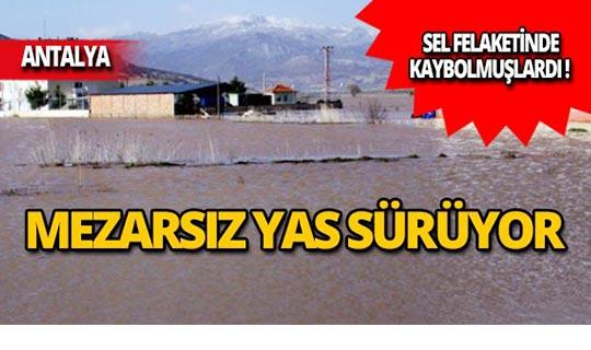 Antalya'da mezarsız yas!