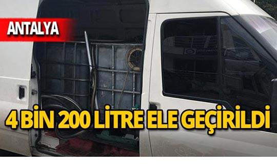 Antalya'da operasyon: Şüpheliler gözaltında!
