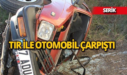 Antalya'da trafik kazası: 4 kişi yaralı