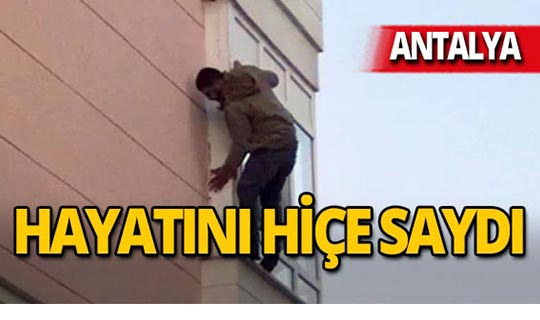 Antalya'da yürekler ağza geldi!