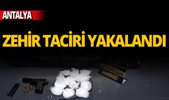 """Antalya'da """"zehir"""" baskını"""