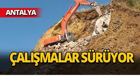Antalya'daki heyelan olayı hakkında flaş gelişme