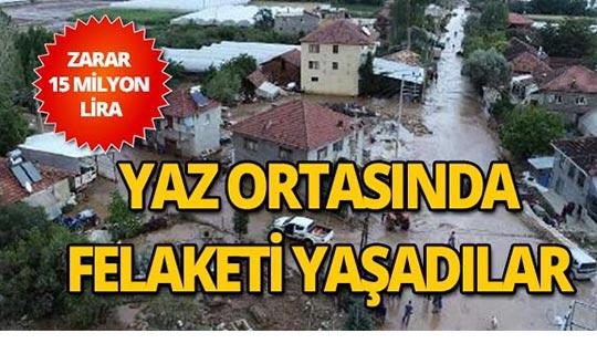 Antalya'daki sel felaketinde son durum