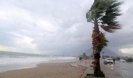 Antalya dikkat! Şiddetli fırtına ve hortum riski var