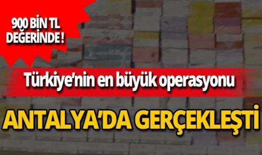 Antalya haber: 26 binden fazlası ele geçirildi!