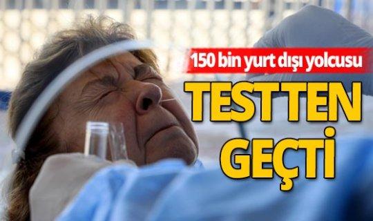 Antalya haber: 3 ayda 150 bin yurt dışı yolcusuna koronavirüs testi yapıldı