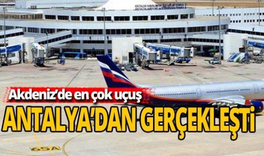 Antalya haber: Akdeniz'in charter lideri Antalya