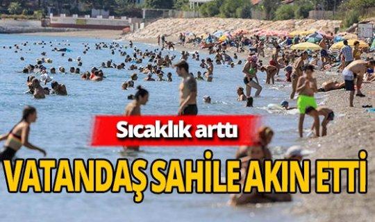 Antalya haber: Antalyalılar soluğu sahilde aldı