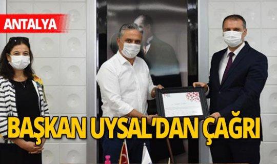 Antalya haber: Türk Kızılay'dan Muratpaşa'ya ziyaret