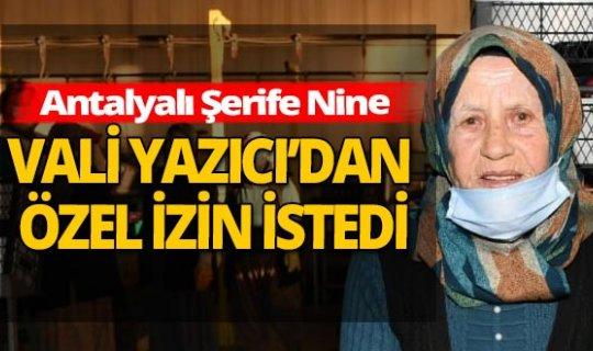 Antalya haber: Çavuş Şerife Nine yaşa takıldı