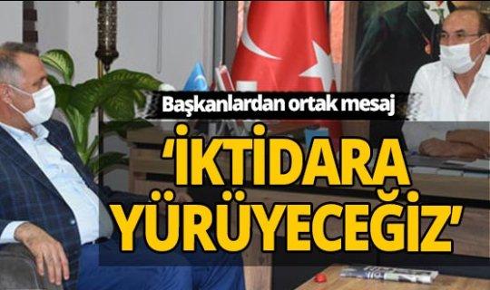 Antalya haber: CHP'li Bayar'dan İYİ Parti'ye ziyaret
